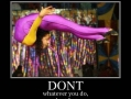 Don't fart!