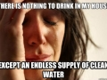 Endless supply of water
