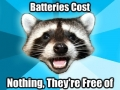 Free batteries!