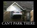Nice parking spot!