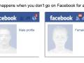 Facebook Men vs. Women
