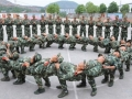 Chinese Army taking a nap