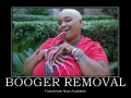 Booger Removal