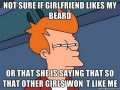 Men with beards will know