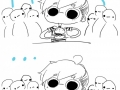 Eating in public