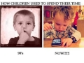 Kids now & then