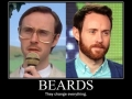 Beards make a difference