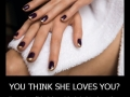 You think she loves you?