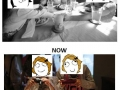 Before meals - Then & Now