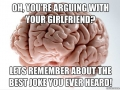 Arguing with gf