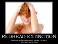 Redhead Extinction