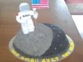 Moon Landing Cake