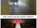 Different hallways