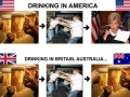 Difference in drinking