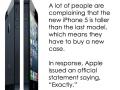 Complaints about iPhone 5