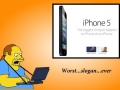 Comic Book Guy on iPhone 5