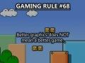 Gaming rule
