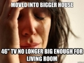 1st World Big House Problem