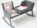 A rocking chair & cradle