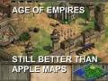 Still better than Apple Maps