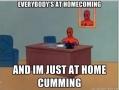 Spiderman at homecoming