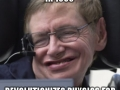 Awesome Stephen Hawking