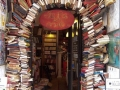 Entrance of a bookstore