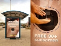 Awesome sun block ad