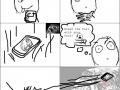 Phone drop rage