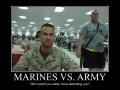 Marines VS. Army