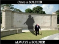 Once a soldier..
