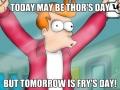 I Love Fry Days!