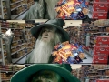 Gandalf grocery shopping