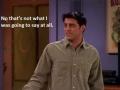 Joey's wisdom