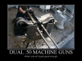 Dual .50 Machine Guns