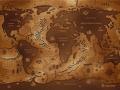 Opposite world map