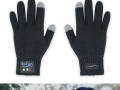 Answer phone with hand glove