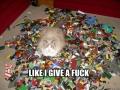 LEGO? Like I give a f**k!