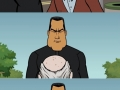 Never ask Seagal the time