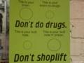 Don�t shoplift!