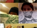 Funny money face mashups