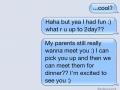 Meeting your parents? Nah!