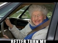 How my grandparents drive