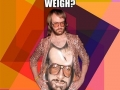How much do hipsters weigh?
