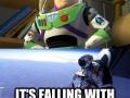Felix is Buzz Lightyear