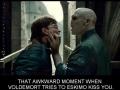 Voldemort gets close