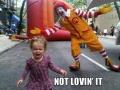 Not lovin' it!