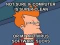 When I run a full scan