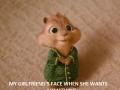 My girlfriend's face