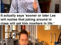 Lee Mack being awesome